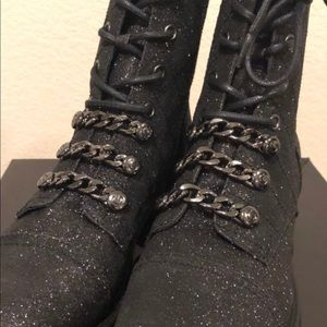 BRAND NEW WITH TAGS - Glittery Boots by guess